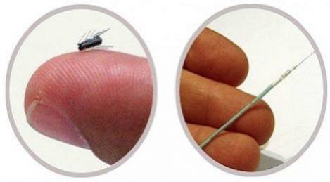 Miniatyrrobotar rengör implanterade dräneringsrör